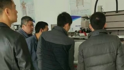 Blending screen printing machine, quality assurance
